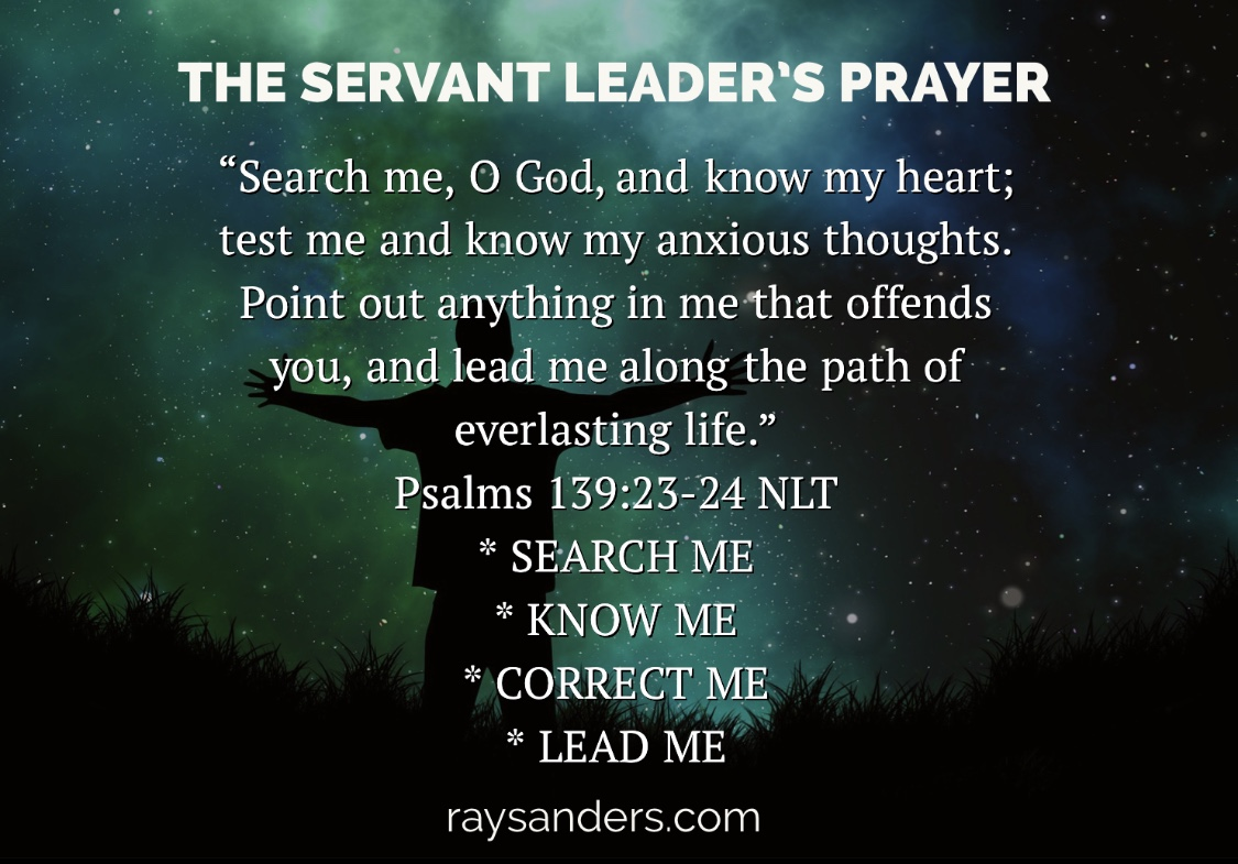 Servant Leader's Prayer