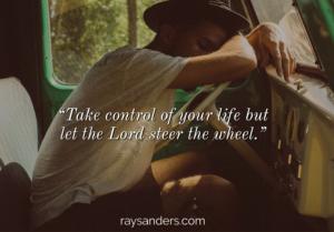 Steer the wheel