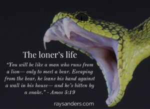 THE LONER'S LIFE